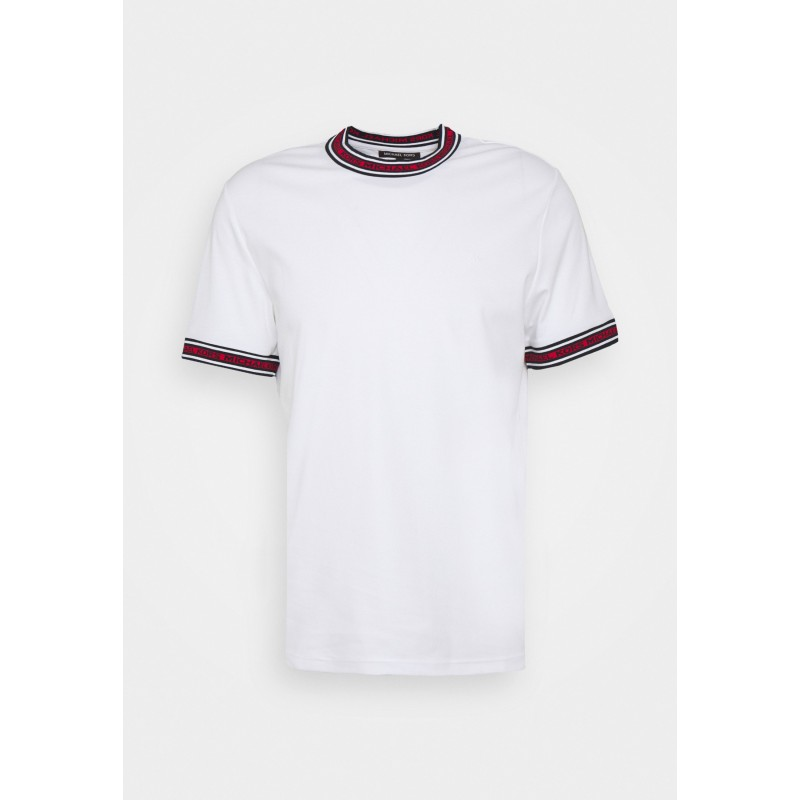 MICHAEL BY MICHAEL KORS - T-Shirt with logo on the neck CS1506K21N100 - White