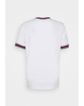 MICHAEL BY MICHAEL KORS - T-Shirt con logo sul collo CS1506K21N100 - Bianco