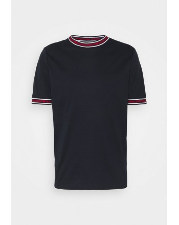 MICHAEL BY MICHAEL KORS - T-Shirt con logo sul collo CS1506K21N511 - Blu -