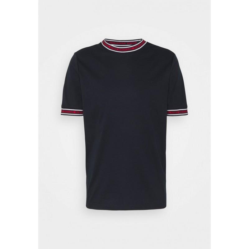 MICHAEL BY MICHAEL KORS - T-Shirt with logo on the neck CS1506K21N511 - Blue -
