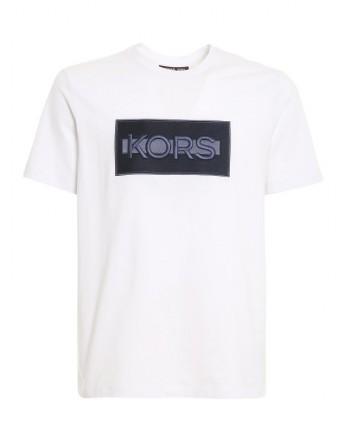 MICHAEL by MICHAEL KORS - t-shirt con logo CS1507J1V2100 - Bianco -