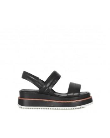 EMANUELLE VEE - Sandal with Padded Band 411M 809-24 - Black -