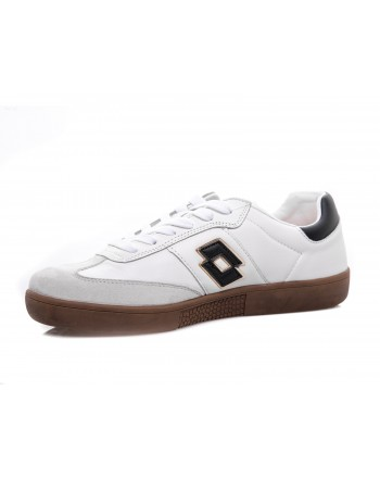 LOTTO LEGGENDA -  BRASIL SELECT Sneakers Leather - Black/White