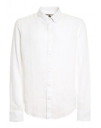 MICHAEL by MICHAEL KORS - Camicia di lino - Bianco -