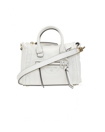 MICHAEL by MICHAEL KORS - MERCER PEBBLE Shoulder  Bag - Optic White