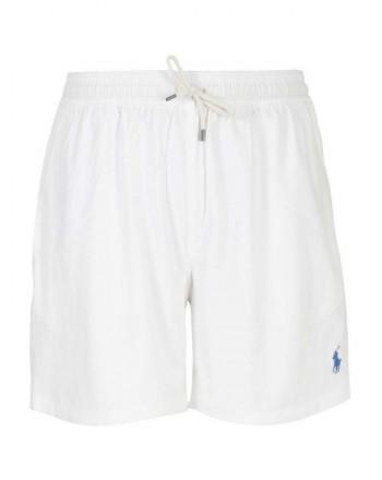 POLO RALPH LAUREN - Beach boxer with logo 710829851 - white -