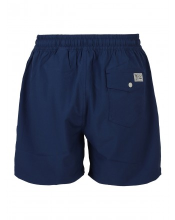 POLO RALPH LAUREN - Beach boxer with logo 710829851 - Blue -