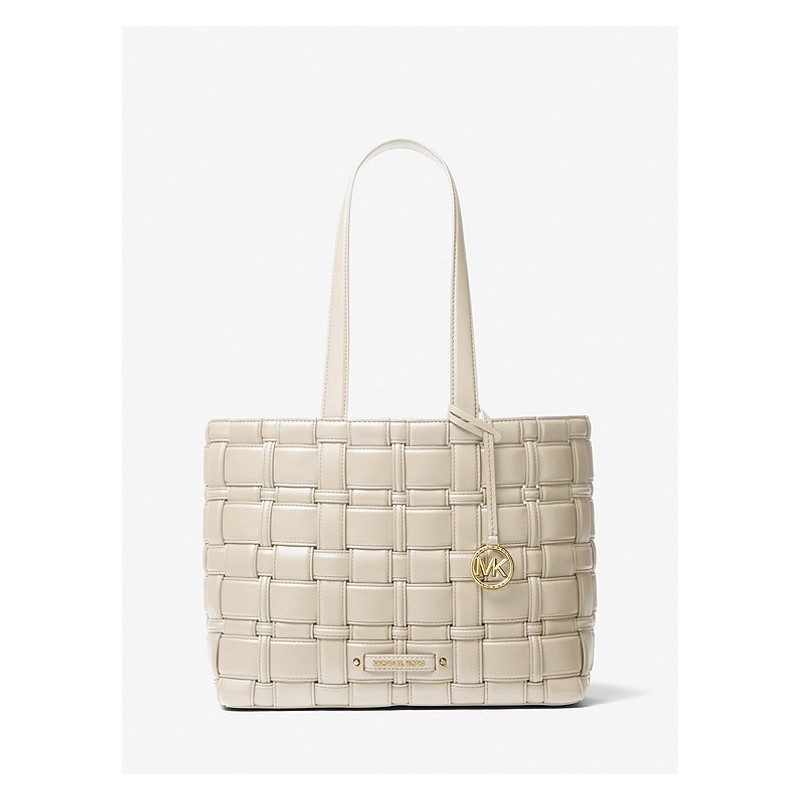 MICHAEL by MICHAEL KORS - Borsa IVY MEDIUM TOTE  30S1L2IT2U- Crema