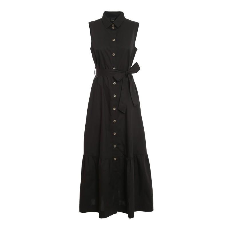PINKO - Sfrontato 2 dress- Black