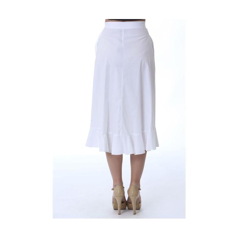 PINKO - Scettico 2 skirt - White
