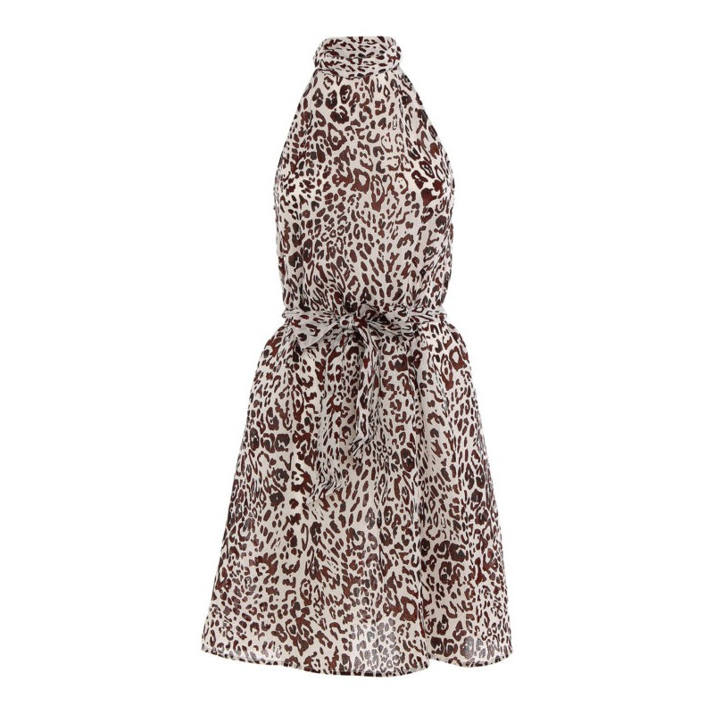 PINKO - Riposato 1 dress - White/ Browm