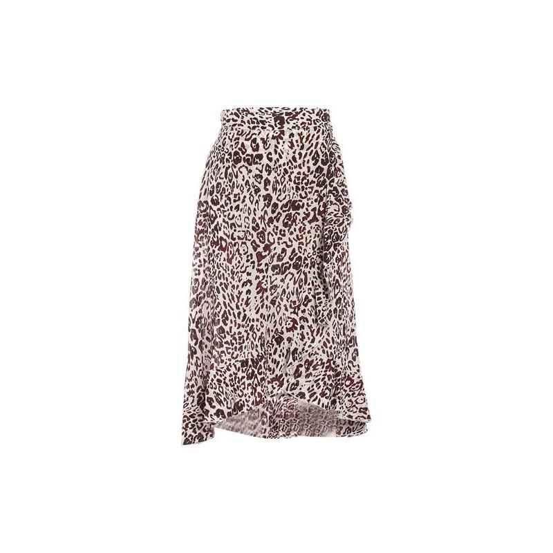 PINKO - Scettico skirt - White/ Brown