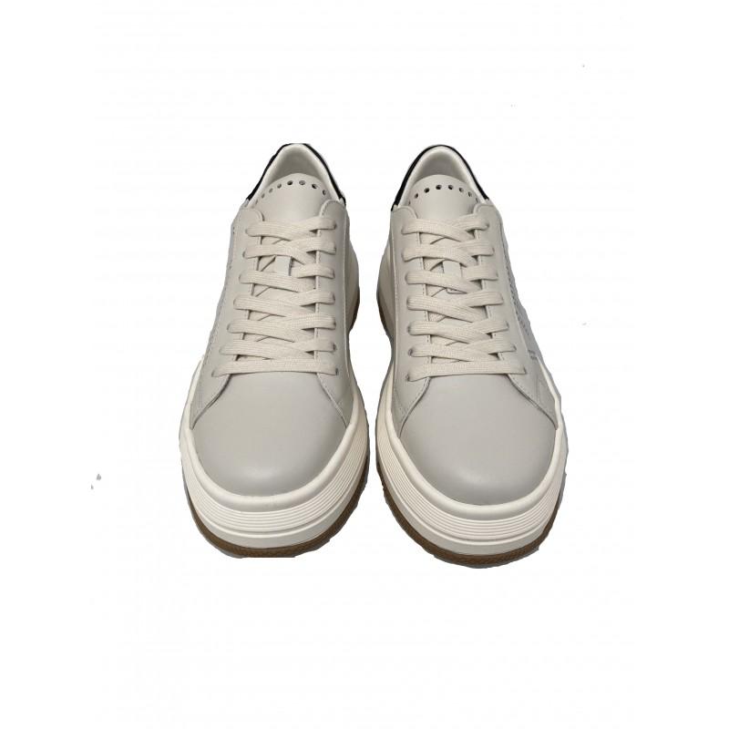 EMANUELLE VEE Logo Sneakers 411P800 - Ivory/Black