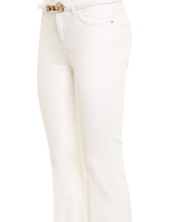 PINKO -  Fannie 15 jeans - White