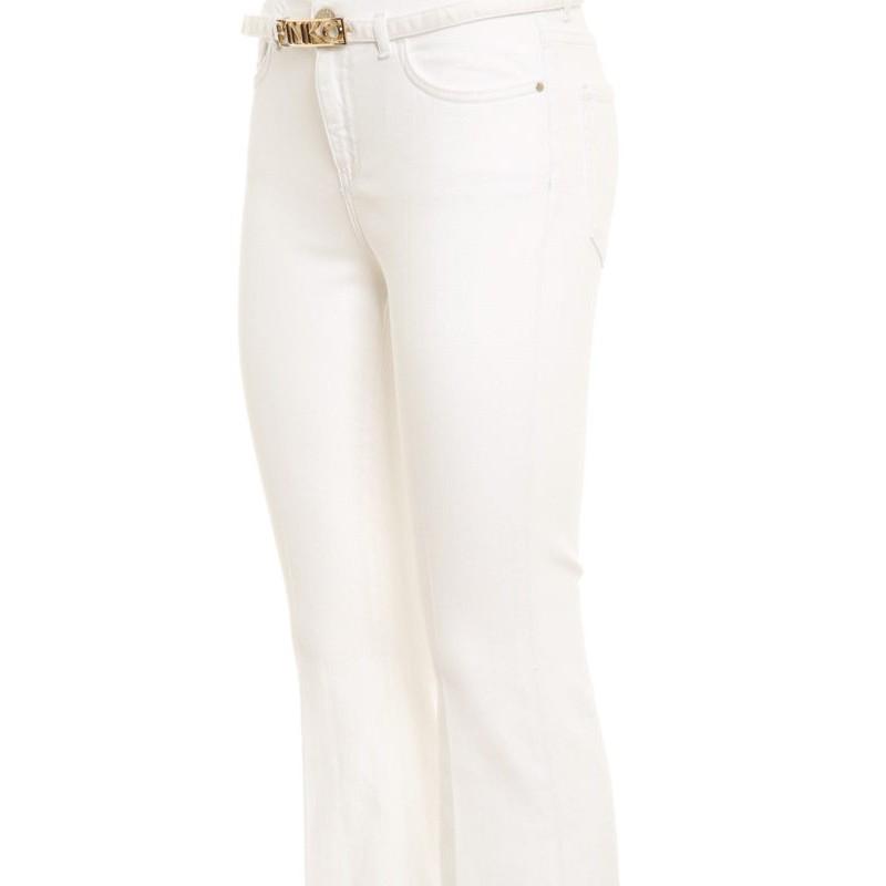 PINKO - Fannie 15 jeans - Bianco