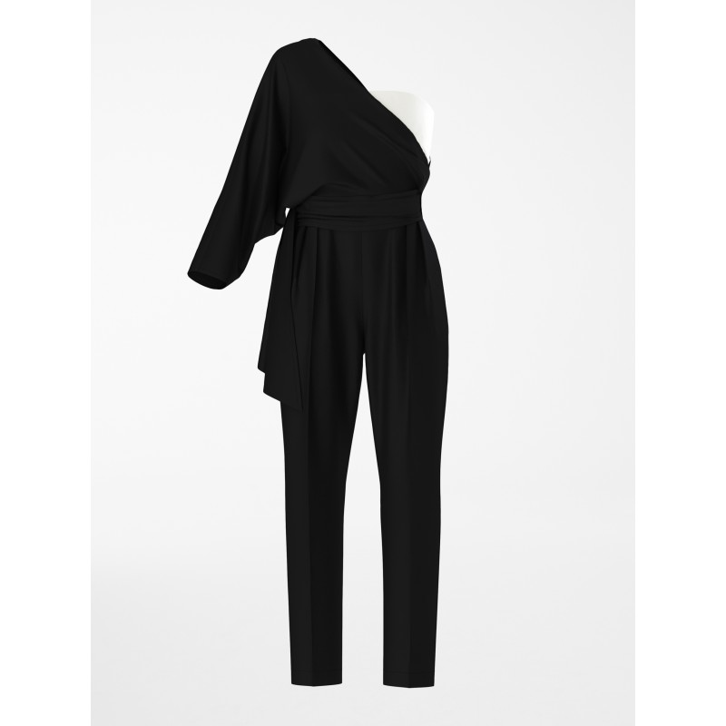 MAX MARA STUDIO  -  RECENTE Cady Jumpsuit 624101150  - Black