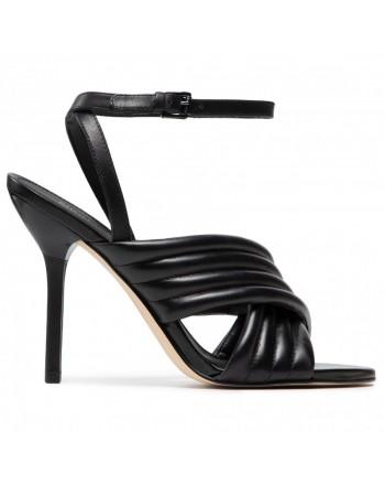 MICHAEL by MICHAEL KORS - Leather Sandal 40S1ROH - Black -