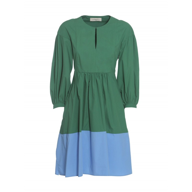 WEEKEND MAX MARA - Sala Dress - Green / Blue -