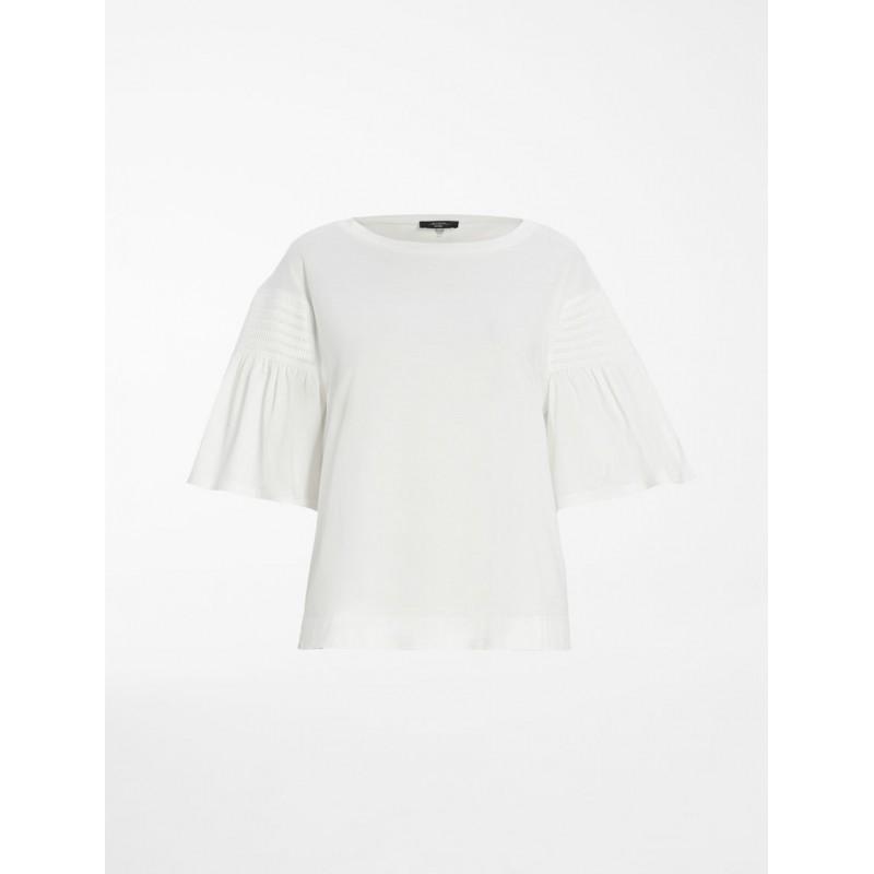 WEEKEND MAX MARA - VANESIO Cotton Jersey T-Shirt WE594114110  - White