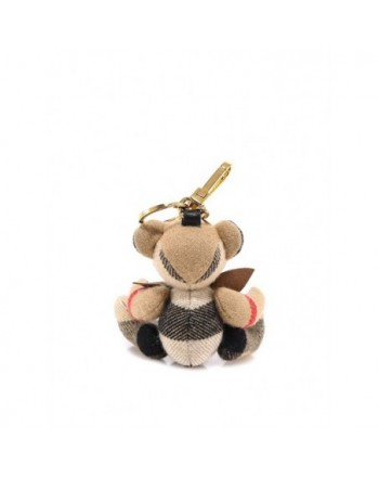 BURBERRY - Thomas bear pendant with bow tie - Archive Beige
