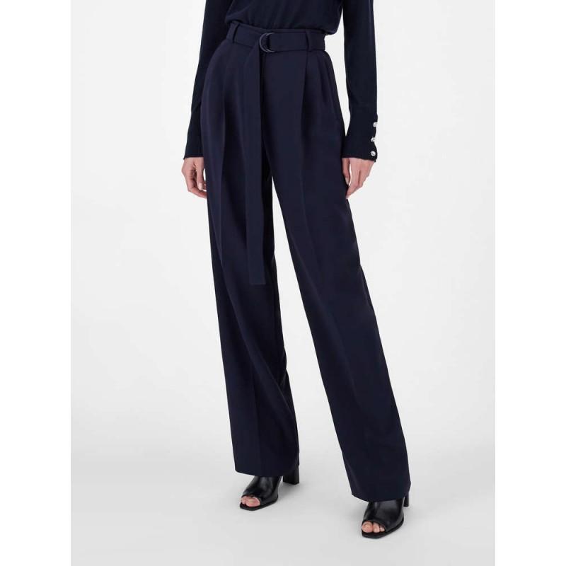 MAX MARA STUDIO  - FIENO Cady Trousers  613106170 -Blue