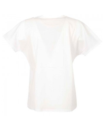 MAX MARA STUDIO  -  BAVIERA Maxi Flower T-Shirt - White