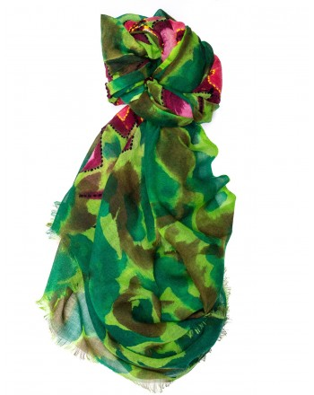 CAMERUCCI - Stola ROSA in lana - Verde