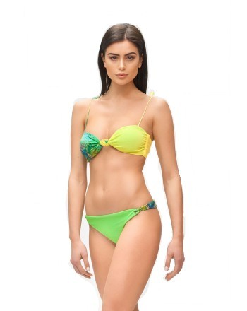 ME FUI - HOT TROPIC Band Bikini M210463- Green/Lime
