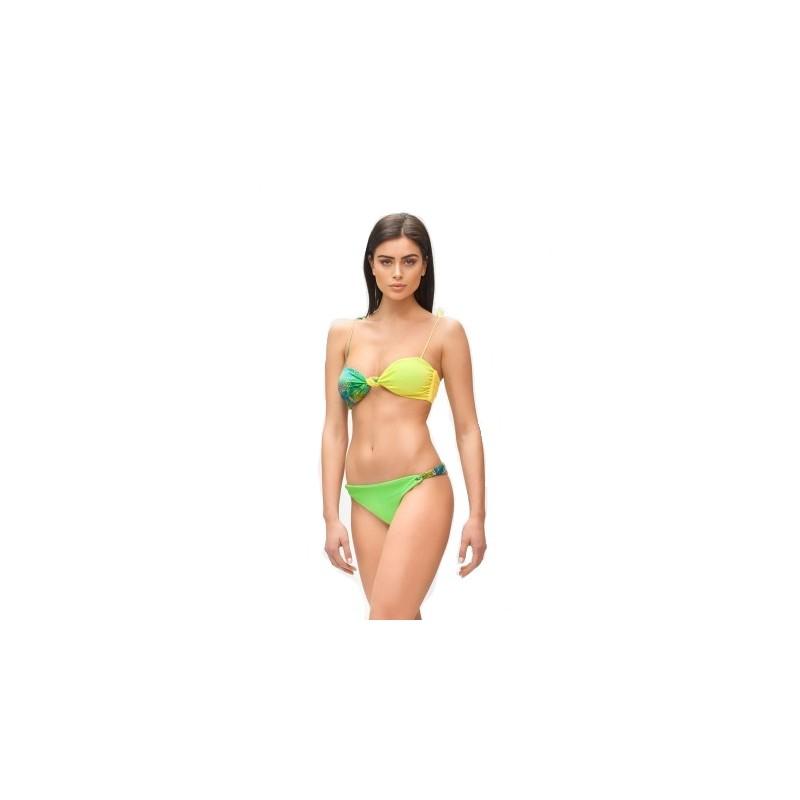 ME FUI - Bikini a Fascia HOT TROPIC  M210463 - Verde/Lime