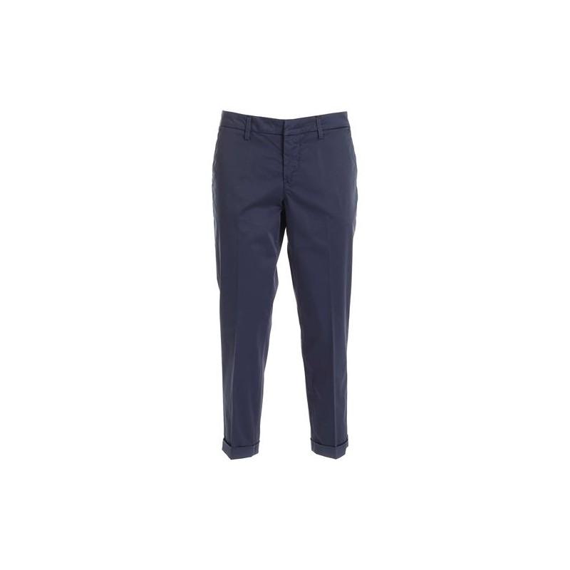 FAY - Pantaloni in cotone Stretch NTW8042530TGUPU810 - Blu