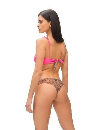 ME FUI - Bikini a Fascia HOT TROPIC  M210463 - Maculato/Fucsia