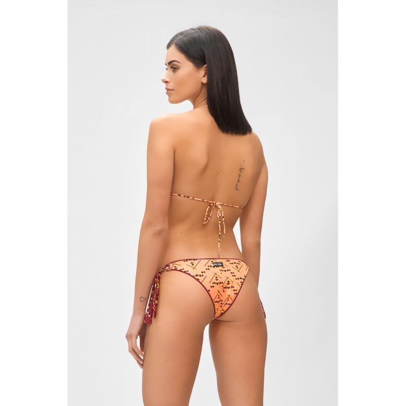 ME FUI - GRAND BAZAR Bikini M211517 - Geranium/Bordeaux