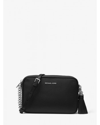 MICHAEL by MICHAEL KORS - Borsa  a Tracolla GINNY in Pelle   - Nero