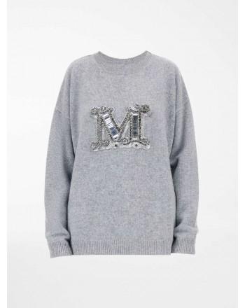 MAX MARA - RODEO Cashmere Yarn Knit - Light Grey