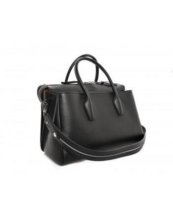 TOD'S - Medium Leather Bag  - Black