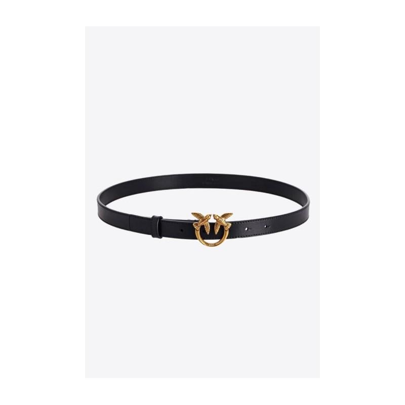 PINKO - LOVE BERRY HIPS SIMPLY H2 Belt - Black