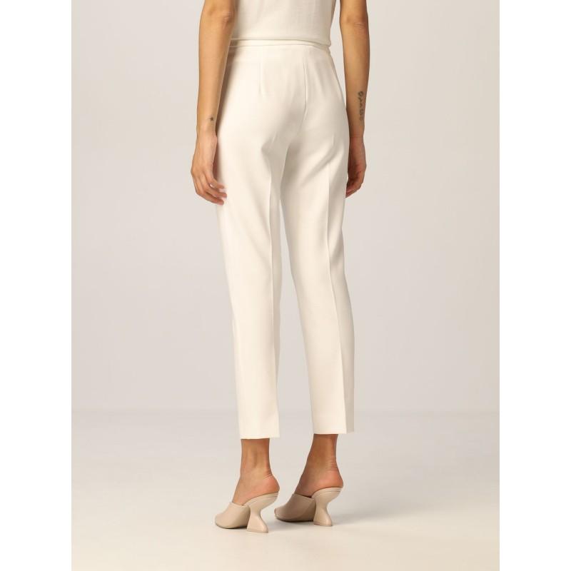 MAX MARA - PEGNO Jersey Dress - Silk White