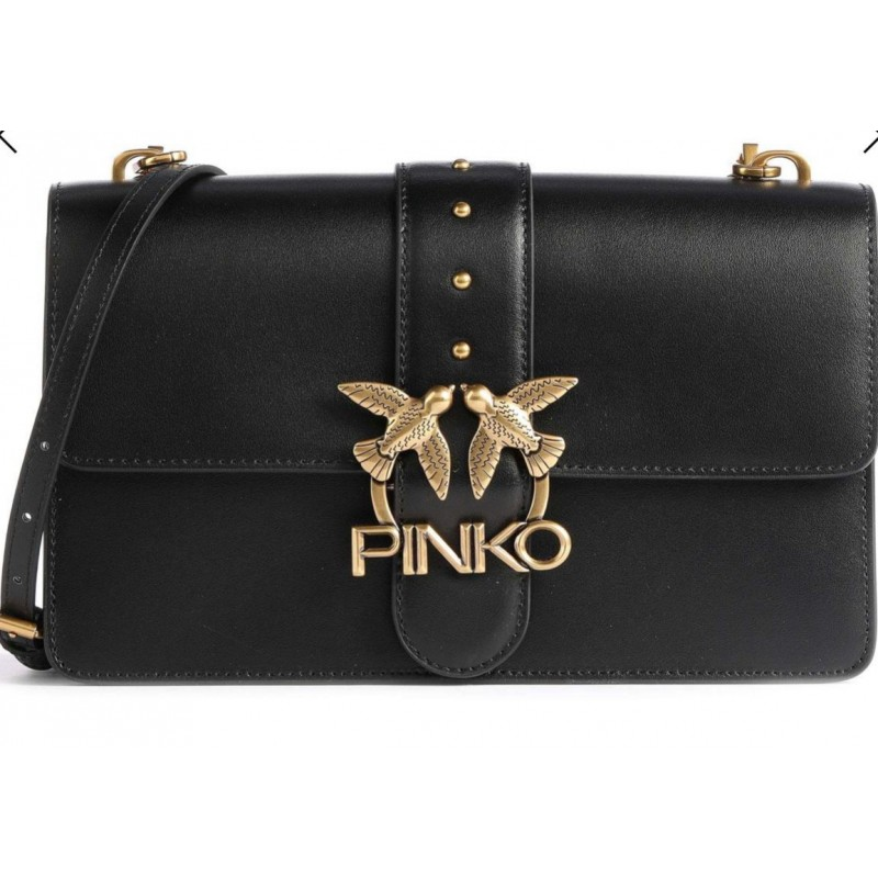 PINKO - Borsa LOVE CLASSIC ICON SIMPLY 8 - Nero