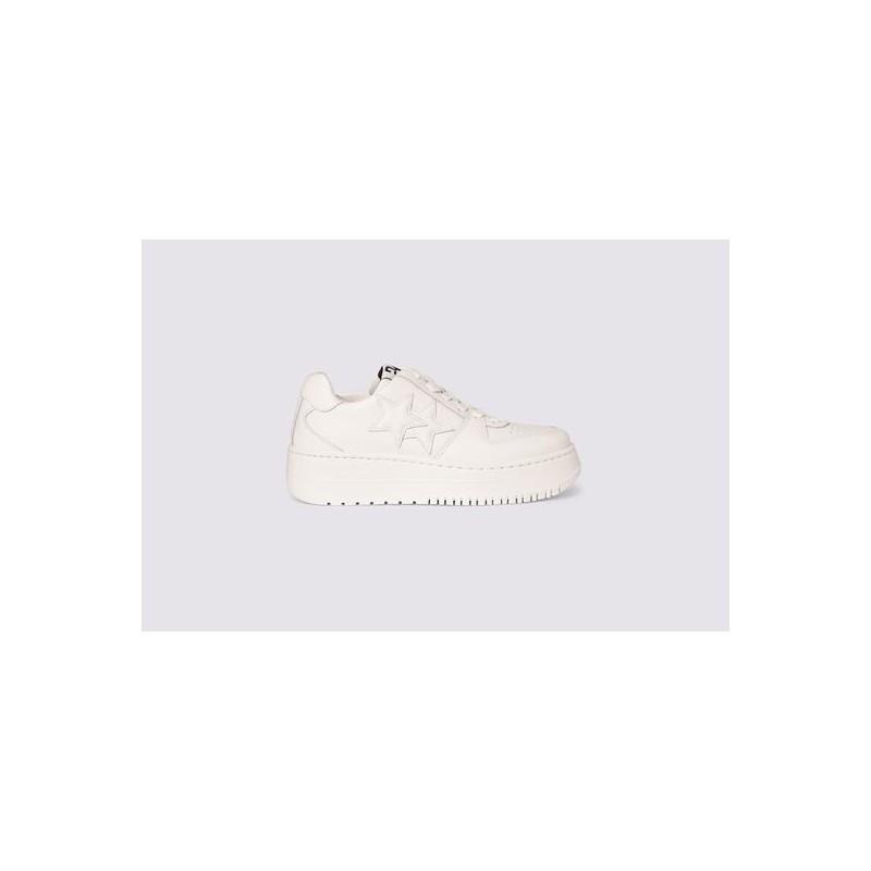 2 STAR- Sneakers 2SD3270 Pelle - Bianco