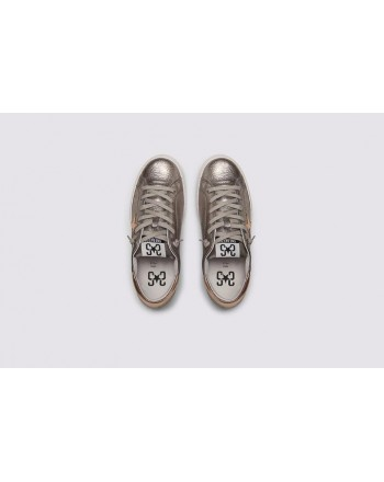 2 STAR- Sneakers 2S3227-096 Leather - Lead / Copper