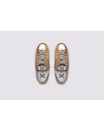 2 STAR- Sneakers 2S3228-097 Pelle - Rame/Piombo
