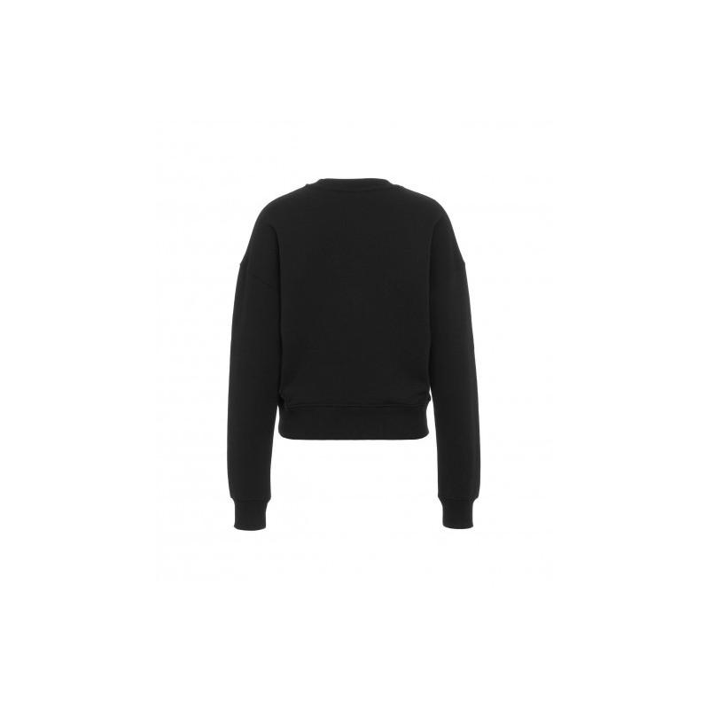 CHIARA FERRAGNI - EYESTAR FLUO Cotton Fleece - Black