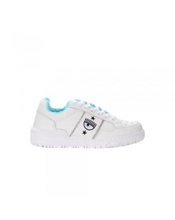 CHIARA FERRAGNI - Sneakers CF1 in Pelle - Bianco
