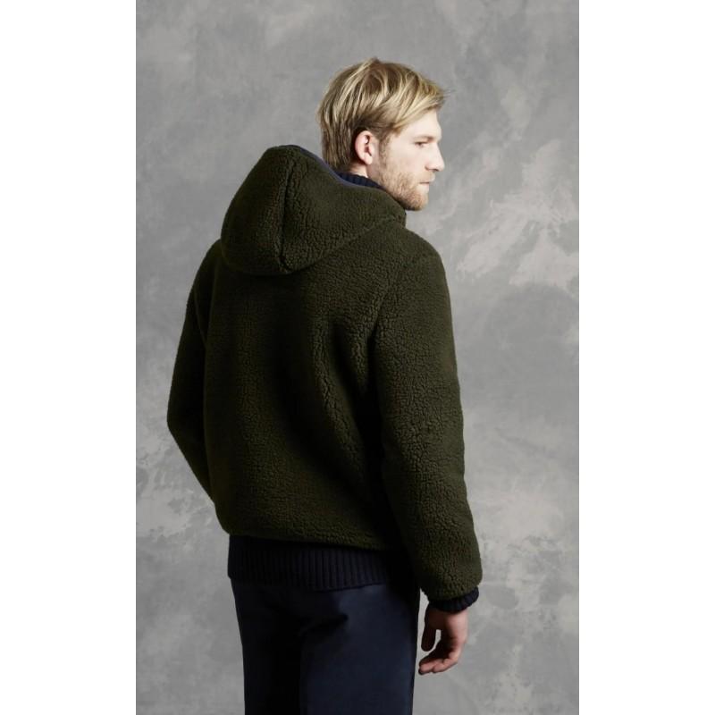 FAY - FAY ARCHIVE Hood Jacket  - Dark Military Green