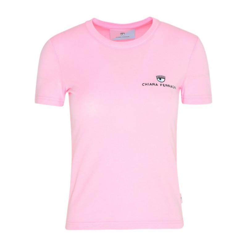 CHIARA FERRAGNI - Basic Cotton T-Shirt -Fairy Tale