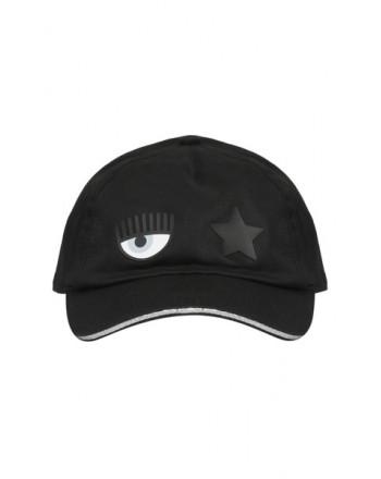 CHIARA FERRAGNI - Cotton Cap - Black