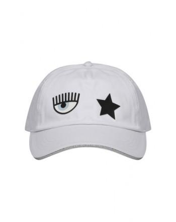 CHIARA FERRAGNI - Cappello in Cotone -Bianco