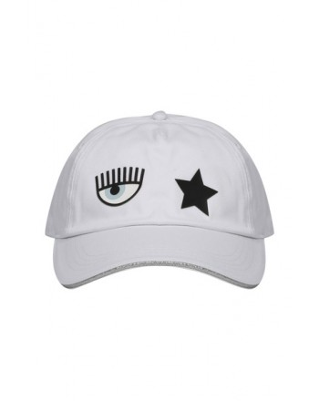 CHIARA FERRAGNI - Cotton Cap - White