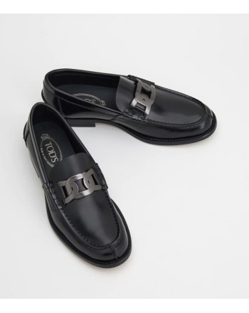Tods uomo -  leather moccasin M26C0EO40AKTB999 - Black