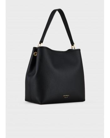 EMPORIO ARMANI - Deer Patterned MYEA  Bag - Black/Silver